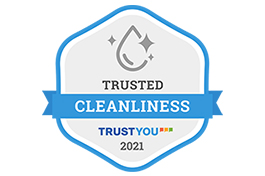 """Hotel Ryumeikan Tokyo has acquired the """"Trusted Cleanliness"""" badge."""