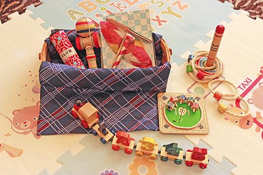 家族旅行応援☆ファミリープラン~和のおもちゃ箱付き~のご紹介